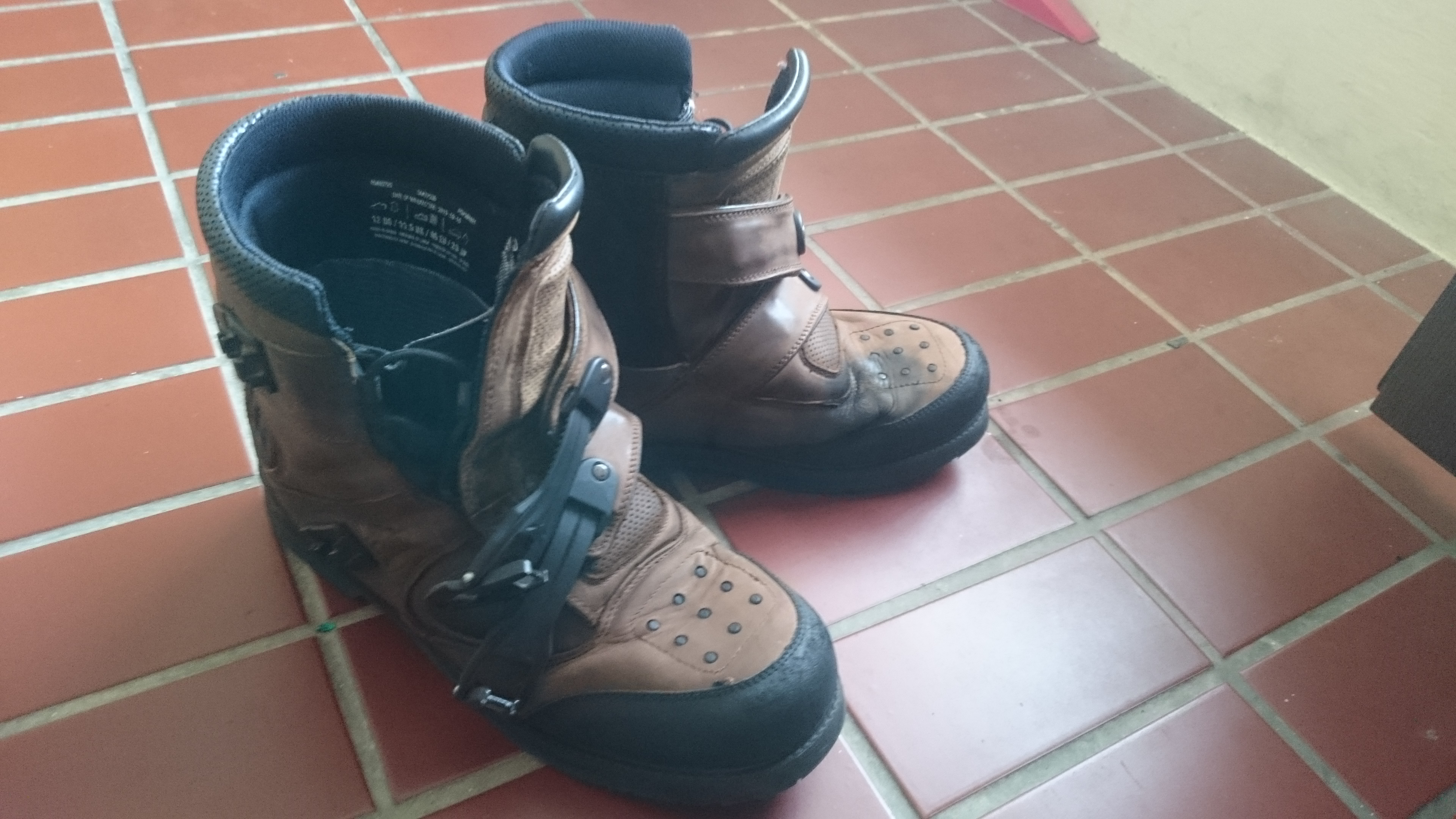 Icon Patrol Motorcycling Boots from Profile Asia