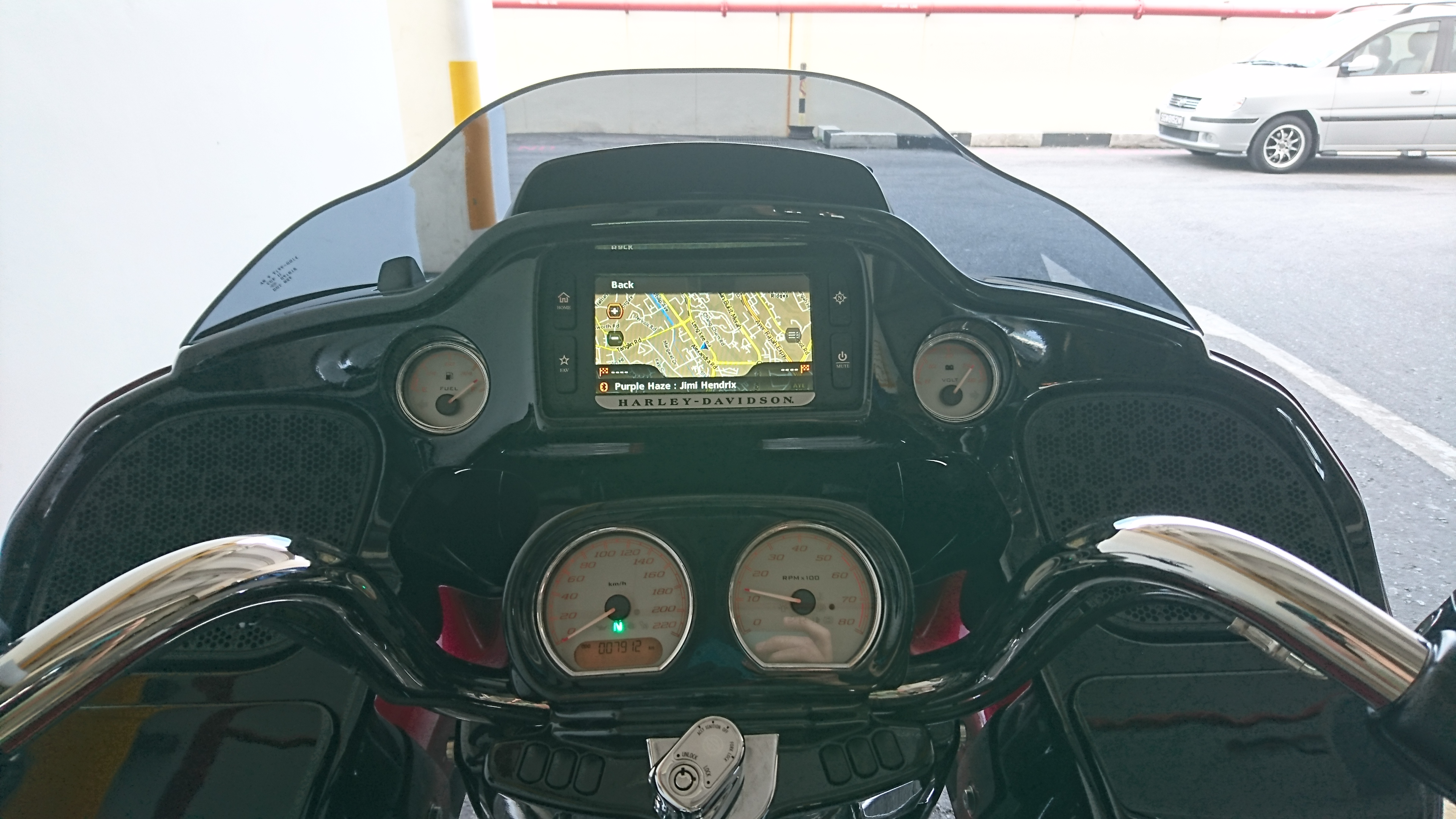 Infotainment System on the Harley Davidson Street Glide Special
