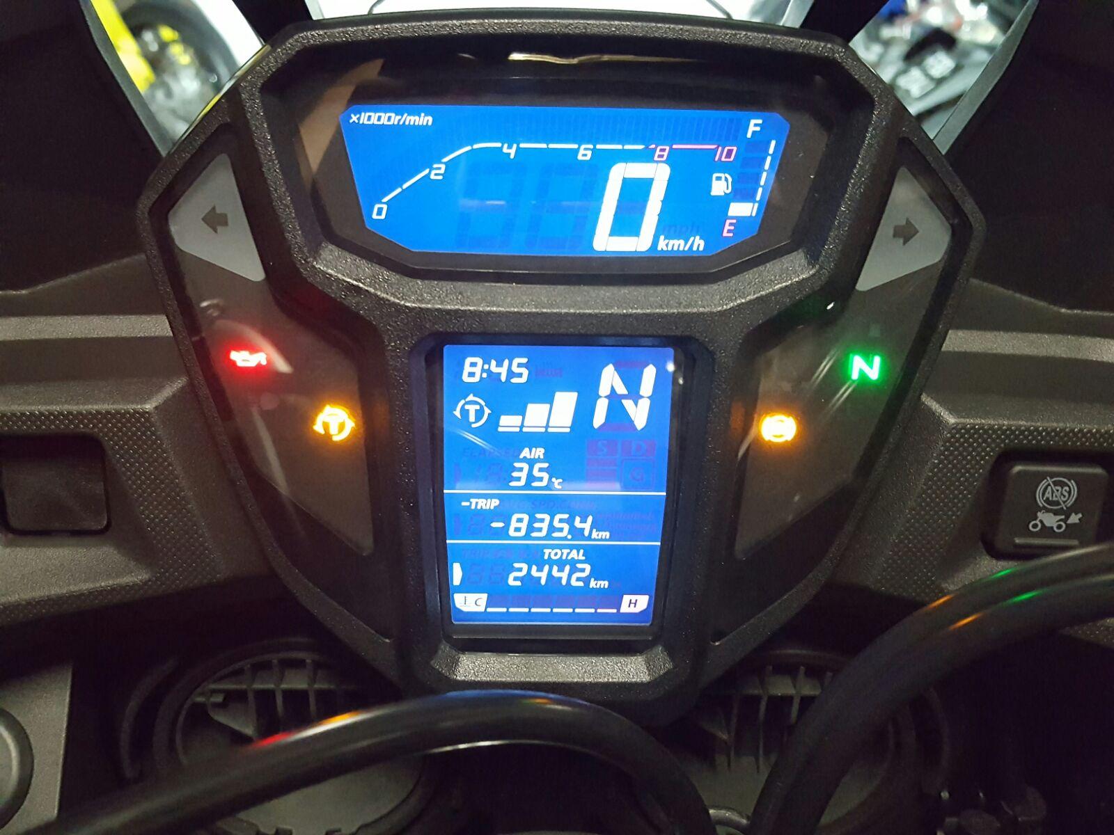 Honda Africa Twin Speedometer
