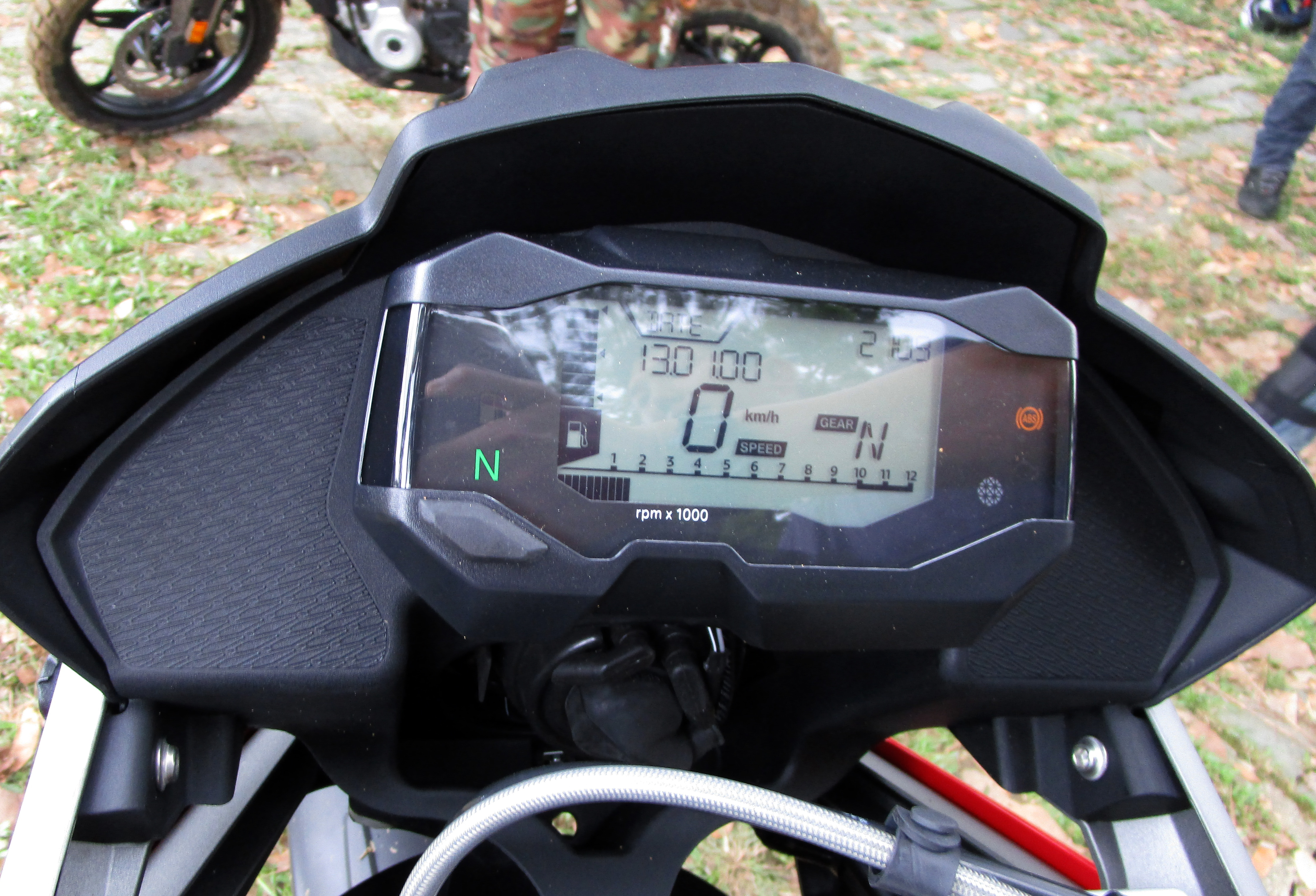 Instrument Cluster on the BMW G310GS